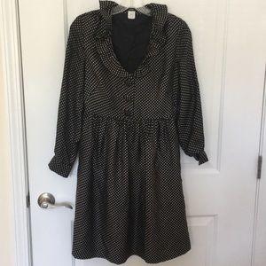 Adorable Polka Dot Silk J. Crew Dress
